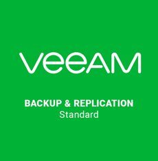 Veeam Backup & Replication Standard (1 year of Production 24/7 Support is included)
